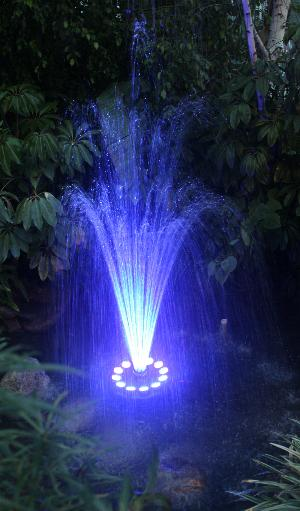 Mini Floating Fountains For Small Ponds