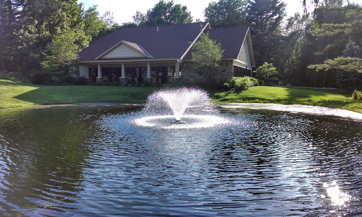 Decorative display lake fountain pond aerator discount for Best pond fountains