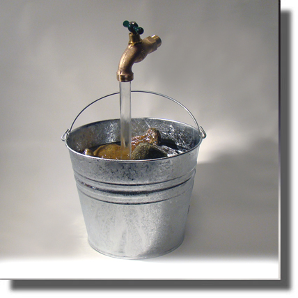 Floating Faucet Fountain