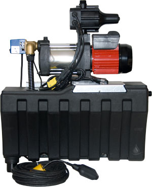 Leader Pumps Ecorain Essential automatic rainwater backup system