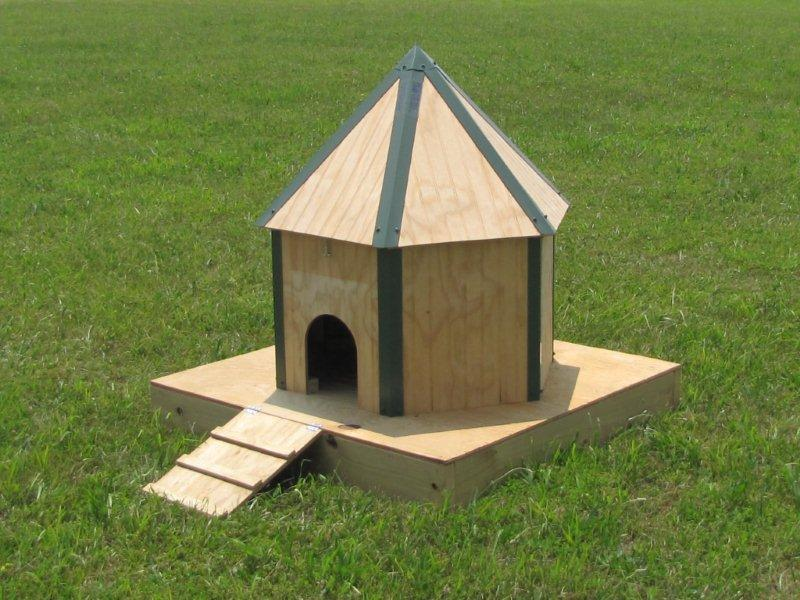 floating duck house and shelter